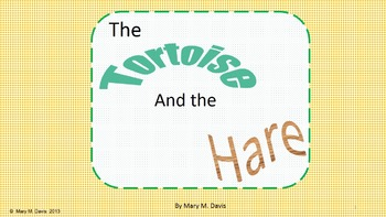 The Tortoise and the Hare-a Play for 3rd Grade Common Core