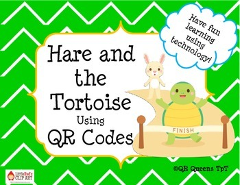 The Tortoise and the Hare Listening Center using QR Codes