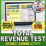 The Total Revenue Test Activity