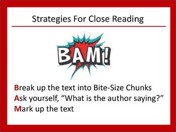 Let's Rock the Test! PowerPoint