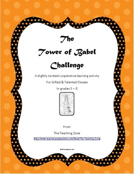 The Tower of Babel Challenge