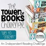 "Reading Log Alternative! ""Tower of Books"" {An Independent Reading Challenge}"