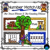 The Town Mouse and Country Mouse Number Match Up