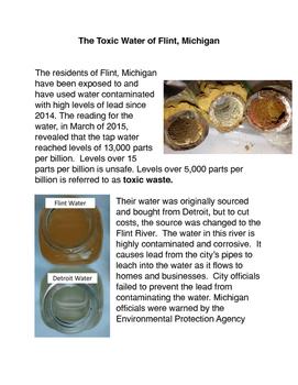 The Toxic Water of Flint, Michigan
