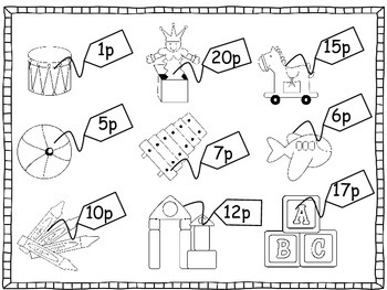 The Toy Shop (A Money activity pack - UK version)