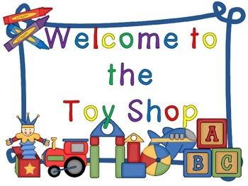 The Toy Shop (A Money activity pack - UK version)