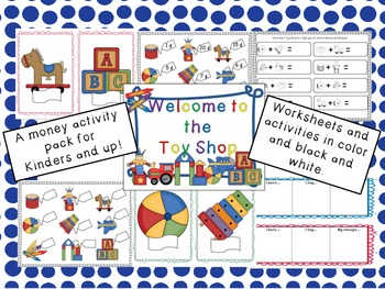 The Toy Shop (A money activity pack)