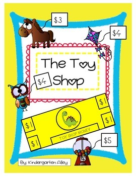 The Toy Shop Math Activity: Adding Numbers within 10