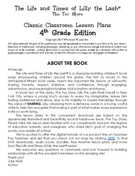 The Toy Store Classic Classroom Lesson Plans: 4th GRADE EDITION