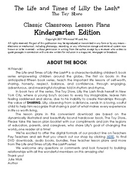 The Toy Store Classic Classroom Lesson Plans: KINDERGARTEN EDITION
