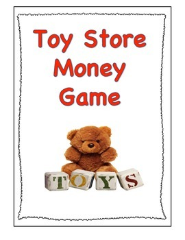 Money game - The Toy Store Game