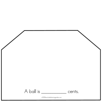 The Toy Store Money Book for Students to Make
