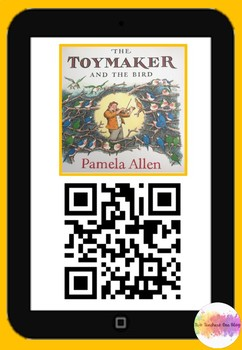 The Toymaker and the bird QR code comprehension pack