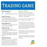 The Trading Game (Social Studies Simulation)