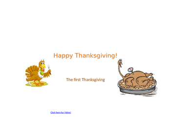 The Traditional First Thanksgiving