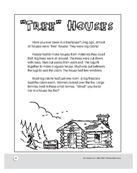 The Traditional Log Cabin: Comprehensive Unit of U.S. History for Grades 1–3