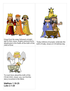 The Traditional Story of Christmas {booklet}