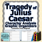 The Tragedy of Julius Caesar Character Analysis Graphic Or