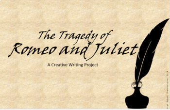 The Tragedy of Romeo and Juliet Reading Activities: Creative Writing Project