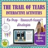The Trail of Tears Digital or Printable Activities on Goog