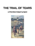 The Trail of Tears - a Cherokee triptych project