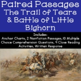 The Trail of Tears and The Battle of Little Bighorn Reading Comprehension