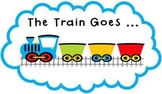 """The Train Goes ..."" Phonemic Awareness Train Activity #se"