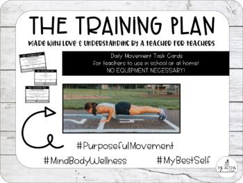 The Training Plan: Daily Movement Tasks for Teachers