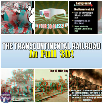 The Transcontinental Railroad in 3D