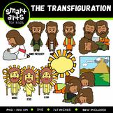The Transfiguration Clip Art