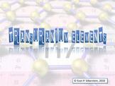 The Transuranium Elements