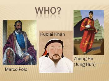 The Travels of Marco Polo and Zheng He