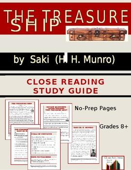 Saki Short Story Study Guide: The Treasure Ship (Full Text, 13 P., Ans. Key, $4)