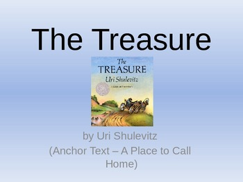 The Treasure - Vocabulary PowerPoint