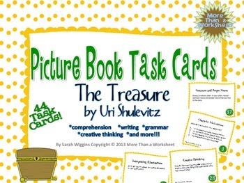 The Treasure by Uri Shulevitz Task Cards