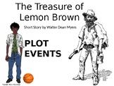 The Treasure of Lemon Brown - Plot Diagram Worksheet