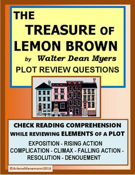 The Treasure of Lemon Brown, Plot Review Questions