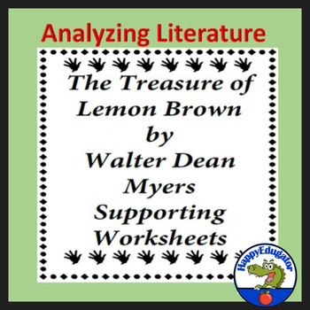 The Treasure of Lemon Brown Supporting Worksheets