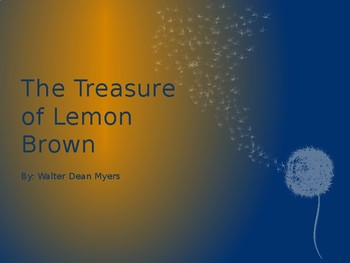 The Treasure of Lemon Brown by Walter Dean Myers