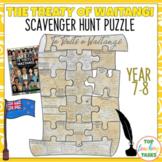 The Treaty Of Waitangi Reading Comprehension Activity Waitangi Day Year 7 and 8