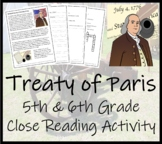 The Treaty of Paris (End of War) - 5th Grade & 6th Grade C