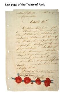 The Treaty of Paris Handout