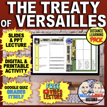 The Treaty of Versailles and The League of Nations Bundle