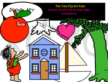 The Tree Clipart Pack