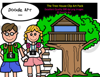 The Tree House Clip Art Pack