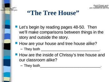 The Tree House -Open Court Reading - Compare and Contrast