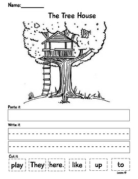 The Tree House Sentence Shuffle
