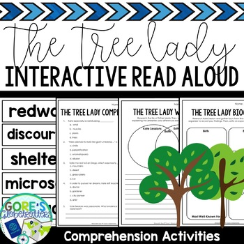 The Tree Lady Worksheets