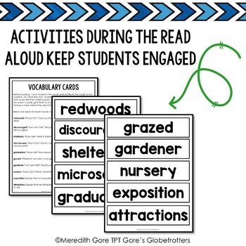 The Tree Lady Read Aloud Activiites and Worksheets