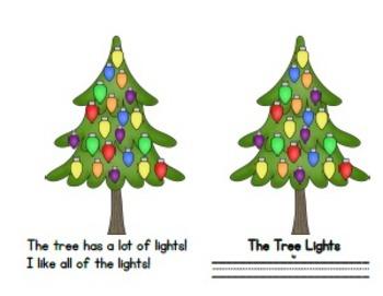The Tree Lights Emergent Reader